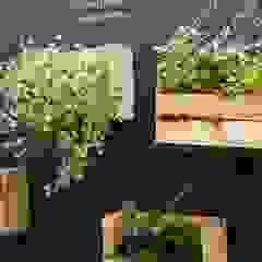 من Luiza Soares - Paisagismo ريفي خشب Wood effect