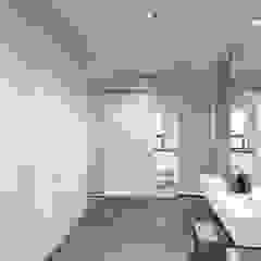 Minimalist corridor, hallway & stairs by MIODESIGN Minimalist