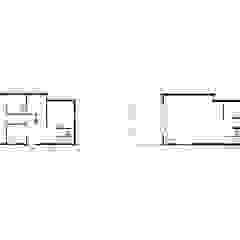Jago House de The Manser Practice Architects + Designers Moderno