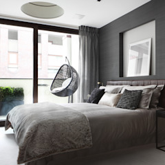 Roman House Modern style bedroom by The Manser Practice Architects + Designers Modern