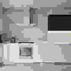 Интерьер квартиры для молодого человека Кухня в стиле минимализм от Оксана Мухина Минимализм