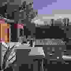 Chalet Atamisque Balcones y terrazas rústicos de Bórmida & Yanzón arquitectos Rústico