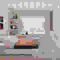 Kamar Tidur Modern Oleh Студия интерьерного дизайна happy.design Modern