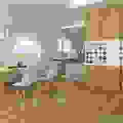 Nowoczesny dom jednorodzinny Nowoczesna jadalnia od D2 Studio Nowoczesny