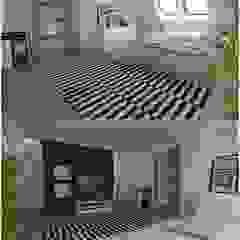 Nowoczesny dom jednorodzinny Nowoczesna sypialnia od D2 Studio Nowoczesny