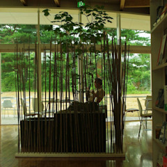 Ruang Komersial Modern Oleh 山越健造デザインスタジオ Kenzo Yamakoshi Design Studio Modern