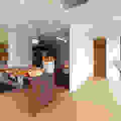 Boulangerie 粉桜 こだわりのパン工房とそのパンを焼くための活力を養う住まい の アトリエ24一級建築士事務所 モダン