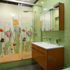 Eclectic style bathroom by Abwarten! Eclectic