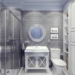 Massimos / cтудия дизайна интерьера Classic style bathroom