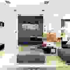 Projekt domu Mati G1 Nowoczesny salon od Pracownia Projektowa ARCHIPELAG Nowoczesny