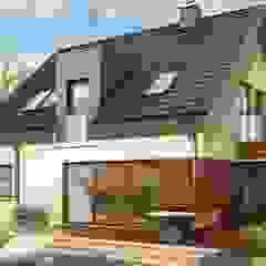 Projekt domu Mati G1 Nowoczesne domy od Pracownia Projektowa ARCHIPELAG Nowoczesny
