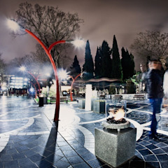 Stone Glass Biofire Urban Icon Garden Fire pits & barbecues