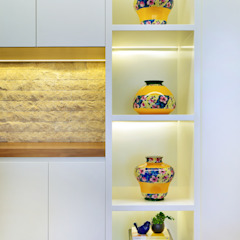 Thaisa Camargo Arquitetura e Interiores Living roomAccessories & decoration