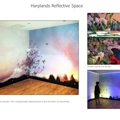Harplands Reflective Space by Emily Campbell Country