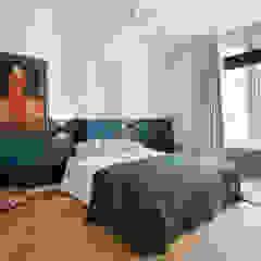 Stadsvilla Den Haag Eclectische slaapkamers van IJzersterk interieurontwerp Eclectisch