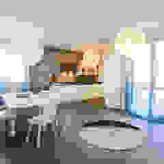 Comedores de estilo mediterráneo de Alessandro Corina Interior Designer Mediterráneo