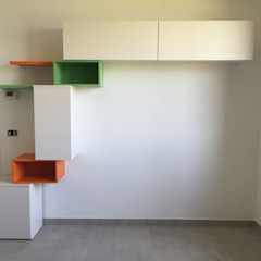 soggiorno in openspace Arreda Progetta di Alice Bambini Soggiorno moderno