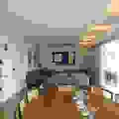 Modern dining room by Luli Hamburger Arquitetura Modern