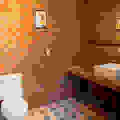 Casa de Campo Cabreúva Banheiros campestres por Cactus Arquitetura e Urbanismo Campestre