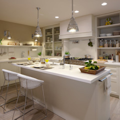 Eclectic style kitchen by DEULONDER arquitectura domestica Eclectic