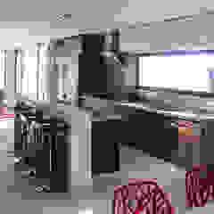 aaestudio Modern kitchen