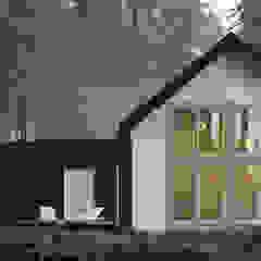 Modern houses by KOZIEJ ARCHITEKCI Modern Wood Wood effect