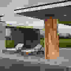IK-architects Jardin minimaliste