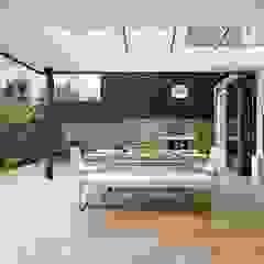 Woodville Gardens Modern balcony, veranda & terrace by Concept Eight Architects Modern