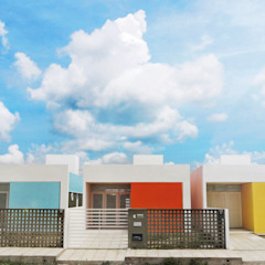 Cidade Feliz A Casas minimalistas por Martins Lucena Arquitetos Minimalista
