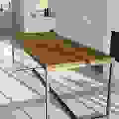 Houthandel van Steen   Man-made furniture Industriale Wohnzimmer Massivholz Holznachbildung