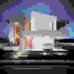 Egzotyczne domy od Martins Lucena Arquitetos Egzotyczny