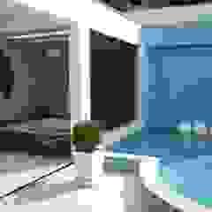 Residência Jardim Anchieta Spa clássicos por ANNA MAYA ARQUITETURA E ARTE Clássico Cerâmica