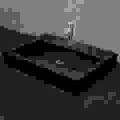 Nowa Droga W Standardach Modern Bathroom Pottery Black