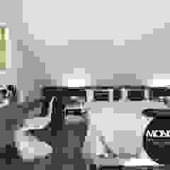 Cuartos de estilo moderno de MONOstudio Moderno Compuestos de madera y plástico