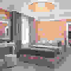 Dormitorios de estilo clásico de Виталия Бабаева и Дарья Дикая Clásico