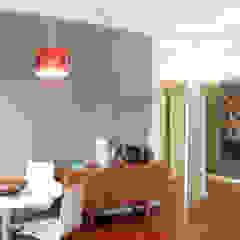 Remodelação T4 . Bairro de Alvalade, Lisboa Salas de jantar ecléticas por BL Design Arquitectura e Interiores Eclético