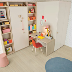 Nidi Nursery/kid's roomBeds & cribs White