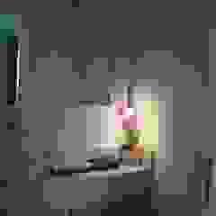 ProArq Brasil 現代浴室設計點子、靈感&圖片 紙 Red