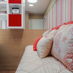 Рабочий кабинет в стиле модерн от M2A - Arquitetura e Eventos Ltda Модерн