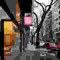 Moderne Häuser von IR arquitectura Modern Glas