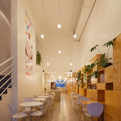 Minimalistische Wände & Böden von IR arquitectura Minimalistisch Holz Holznachbildung