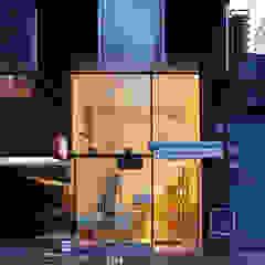 Minimalistische Häuser von IR arquitectura Minimalistisch Holz Holznachbildung