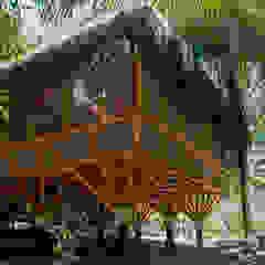 Universo Pol - Morro de San Pablo Dormitorios tropicales de IR arquitectura Tropical Bambú Verde