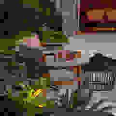 Tropical style gardens by Marina Linhares Decoração de Interiores Tropical