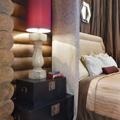 Rustic style bedroom by Ольга Куликовская-Эшби Rustic