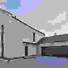 Dom w Olimpinie, koło Bydgoszczy Nowoczesne domy od AAYE Architekci Nowoczesny