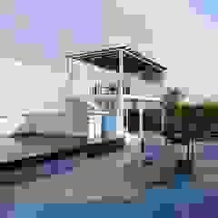 Mediterranean style balcony, porch & terrace by Design Consortium Mediterranean