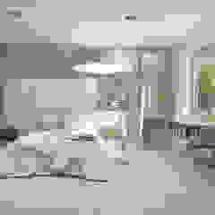 UTOO-Pracownia Architektury Wnętrz i Krajobrazu Modern style bedroom