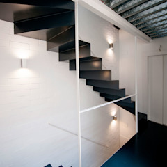 Modern Corridor, Hallway and Staircase by lluiscorbellajordi Modern