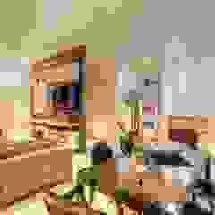 sala de estar jantar - Nova Lima JANAINA NAVES - Design & Arquitetura Salas de estar modernas